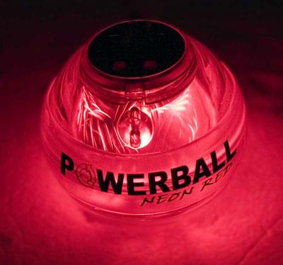 Powerball Neon Red Pro. Кистевой тренажер, со счетчиком ( Neon Red Pro (со счётчиком) )