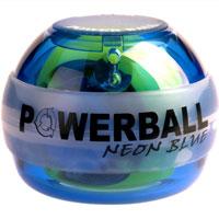 Powerball Neon Blue. Кистевой тренажер, без счетчика ( Neon Blue (без счётчика) )
