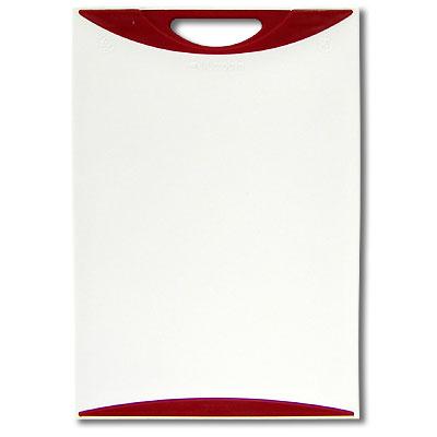 Доска разделочная Atlantis Microban 29,5х20см, цвет: красный белый V-S-20
