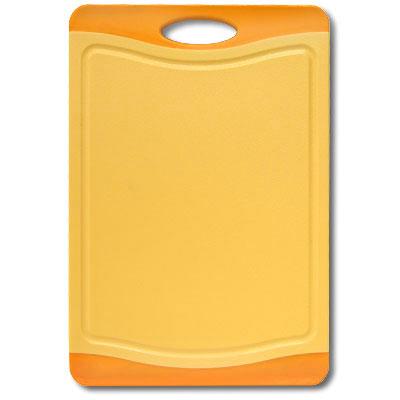 Доска разделочная Atlantis Microban 36,5х25см, цвет: оранжевый F-M-O