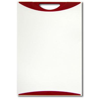 Доска разделочная Atlantis Microban 37,5х25см, цвет: красный белый V-M-20