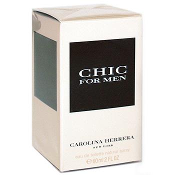 Carolina Herrera Chic for Men. Туалетная вода, 60 мл