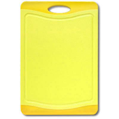Доска разделочная Atlantis Flutto 37 х 25см, цвет: желтый F-M-Y