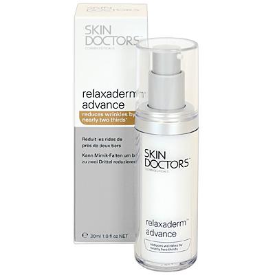 Skin Doctors Прогрессивный крем Relaxaderm Advance для лица против морщин и мимических линий, 30 мл