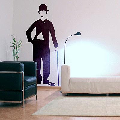 "Стикер Paristic ""Чаплин"", 65 х 160 см"