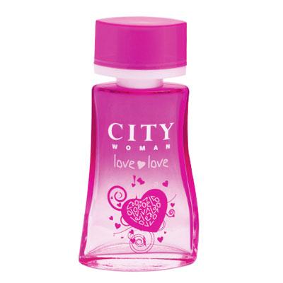 City Woman Love Love. Туалетная вода, 60 мл
