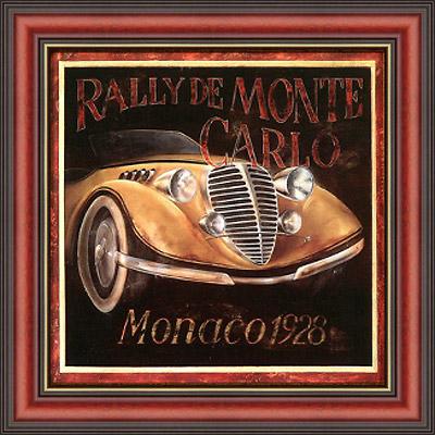 Монако 1928 (Fabrice de Villeneuve), 18 х 18 см