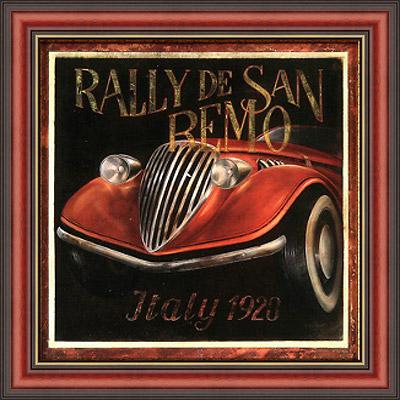 Италия 1928 (Fabrice de Villeneuve), 18 х 18 см