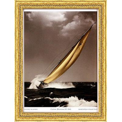 Хлопковый рассвет 1941 (Mystic Seaport), 17 х 22 см