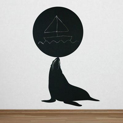 "Стикер Paristic ""Морской котик"", 33 х 48 см"