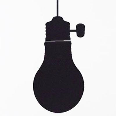 "Стикер Paristic ""Лампочка"", 28 х 44 см"