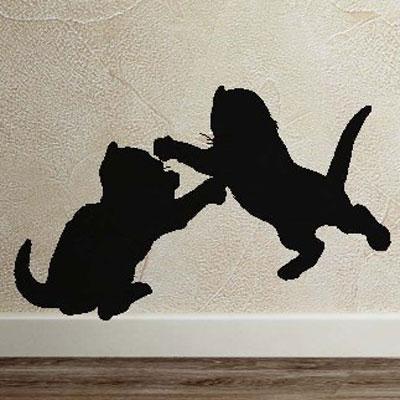 "Стикер Paristic ""Котята"", 35 х 22 см"