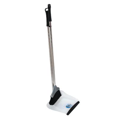 """Набор для уборки Fratelli RE """"Duck"""": совок и щетка, цвет: прозрачный, серый. 11707-А"""