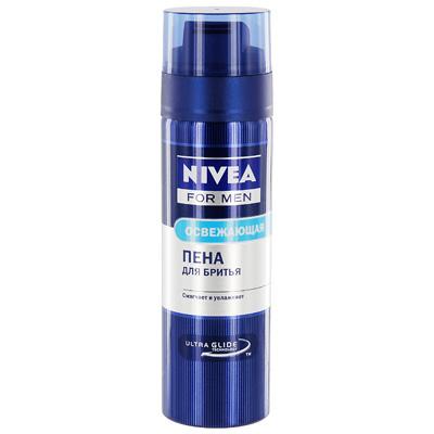 NIVEA Пена для бритья Экстремальная свежесть200 мл