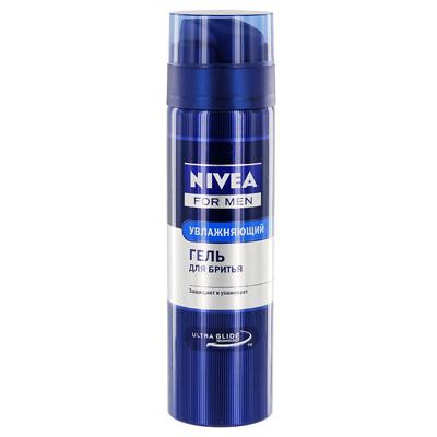 NIVEA Классический гель для бритья Увлажняющий 200 мл (Nivea)