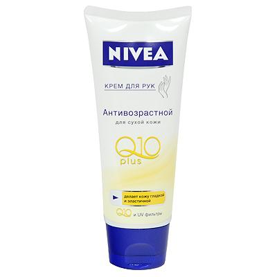 """Крем для рук Nivea Hand """"Q10 Plus"""", антивозрастной, для сухой кожи, 100 мл ( 100510211 )"""