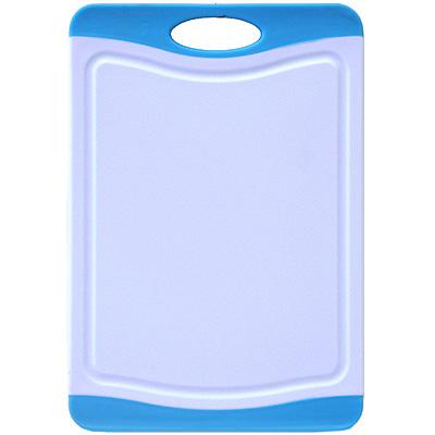 Доска разделочная Atlantis Microban 20x14см, цвет: голубой F-B-B