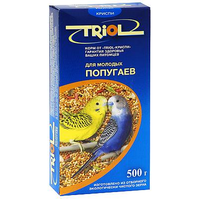 "Корм для молодых попугаев ""Triol"", 500 г ( Кф-01000 )"