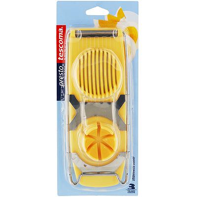 """Яйцерезка """"Tescoma"""", цвет: желтый. 420645"""
