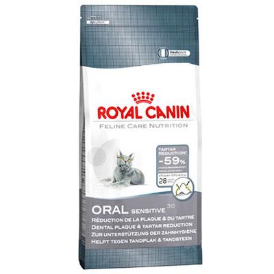 "Корм сухой Royal Canin ""Oral sensitive"" для кошек, профилактика зубного камня"