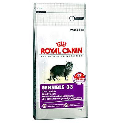 """Корм сухой Royal Canin """"Sensible"""" для кошек с чувствительным пищеварением"""
