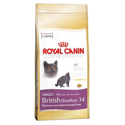 "Корм сухой Royal Canin ""British shorthair"" для британских короткошерстных кошек"