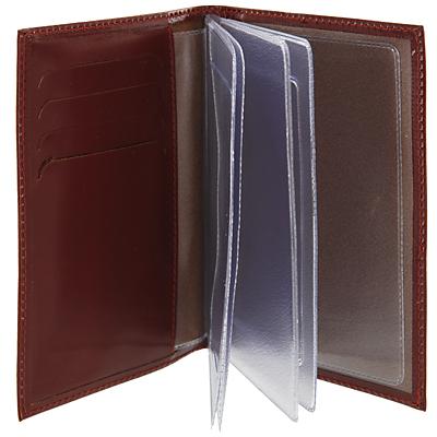 """Бумажник водителя """"Befler"""", цвет: коричневый. BV.20.-1 ( BV.20.-1.cognac )"""