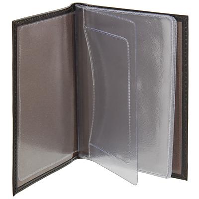 "Бумажник водителя ""Befler"", цвет: темно-коричневый. BV.1.-1 ( BV.1.-1.brown )"