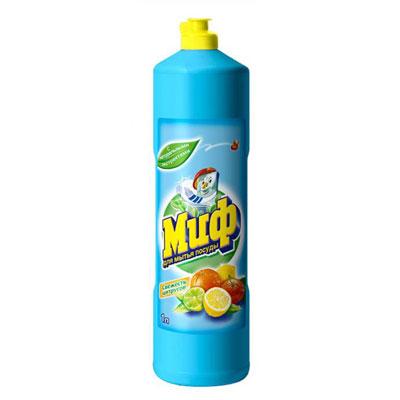 """Средство для мытья посуды """"Миф"""", с ароматом цитрусовых, 1 л ( MD-81274266 )"""