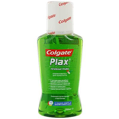 Ополаскиватель для полости рта Colgate Plax, лечебные травы, 250 мл
