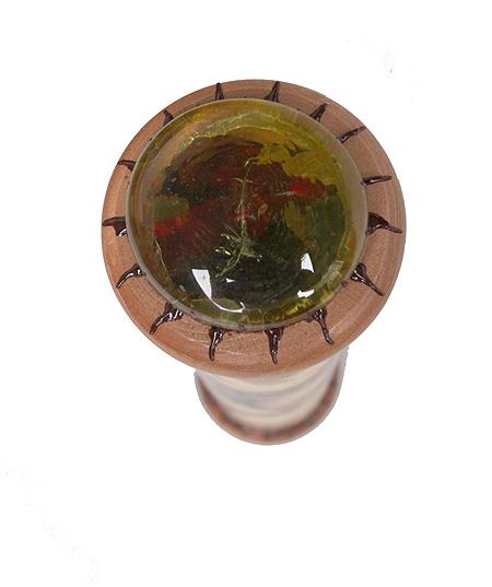 """Калейдоскоп """"Амуры-поцелуй"""". Печать, металл, кракелюрный лак, зеркала, стекло, акрил. Ручная авторская работа"""