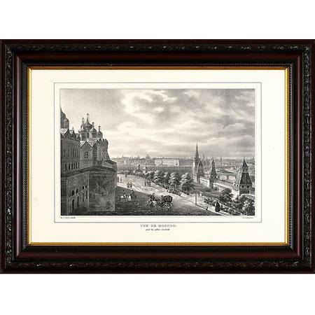 Вид Москвы (Кадоль Огюст-Антуан), 30 x 40 см