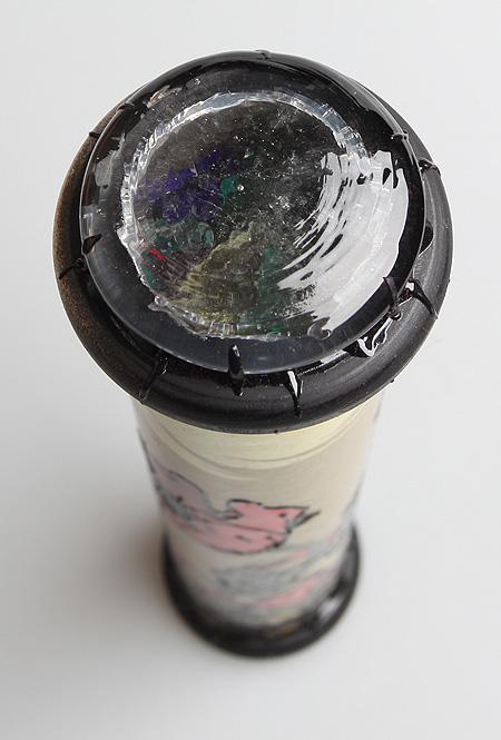 """Калейдоскоп """"Маки"""". Цветная печать, фактурный рисунок, лак, зеркала, стекло, акрил, дерево. Ручная авторская работа"""