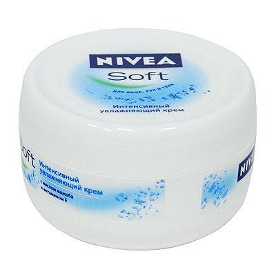 """Nivea Крем для лица, рук и тела """"Soft"""", увлажняющий, 200 мл ( 1001170 )"""