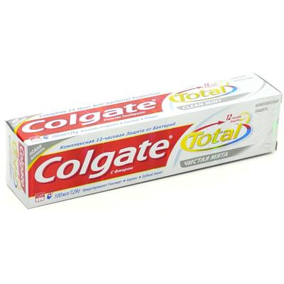 Зубная паста Colgate Total 12 Чистая мята, с фтором, 150 мл