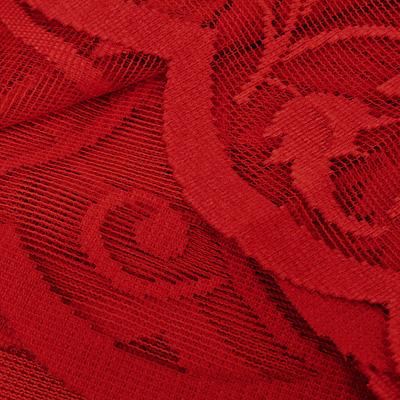 """Гардина из тюля """"Mara"""", высота: 150 см, цвет: красный"""