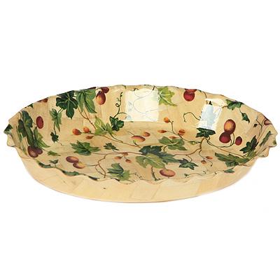 Блюдо овальное Oriental way Флора 35 х 26см WH-237WP212 ( WH-237WP212 )