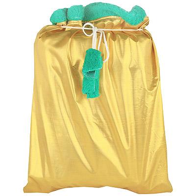Мешок для подарков, цвет: золотистый, 37 см х 50 смА101Мешок для подарков золотистого цвета цвета особенно актуален в приближающиеся новогодние праздники. Откройте для себя удивительный мир сказок и грез. Почувствуйте волшебные минуты ожидания праздника, создайте новогоднее настроение вашим дорогим и близким. Характеристики: Материал: текстиль. Размеры: 37 см х 50 см. Производитель: Россия. Артикул: А101.