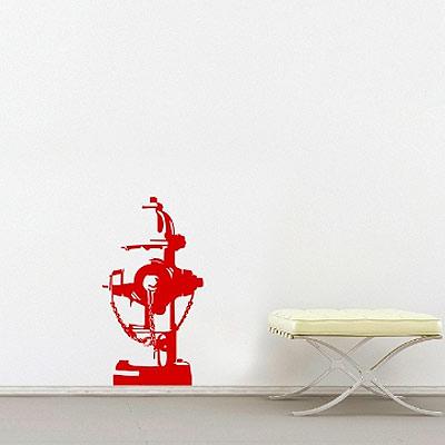 """Стикер Paristic """"Пожарная колонка. Нью-Йорк"""", 40 х 72 см"""