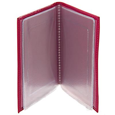 "Бумажник водителя ""Befler"", цвет: красный. BV.38.-1 ( BV.38.-1.red )"
