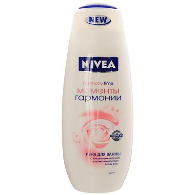"""Nivea Пена для ванны """"Моменты Гармонии"""", 500 мл ( 80915 )"""