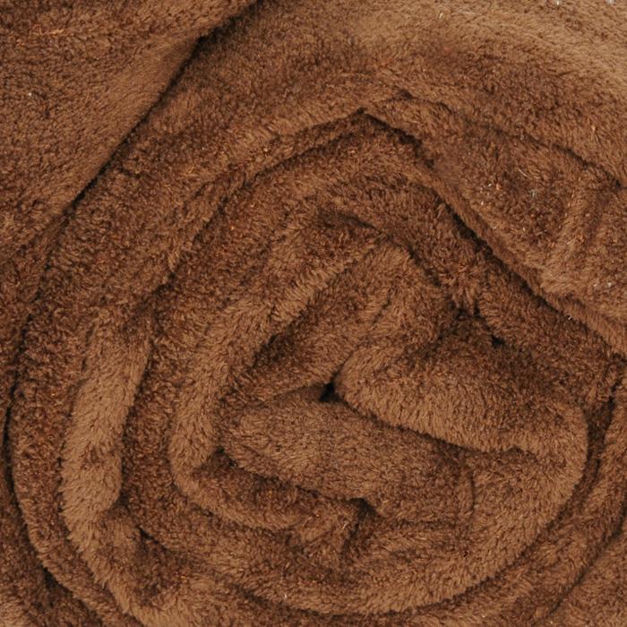 """Плед флисовый """"Coral Fleece"""", цвет: коричневый, 220 х 200 см"""