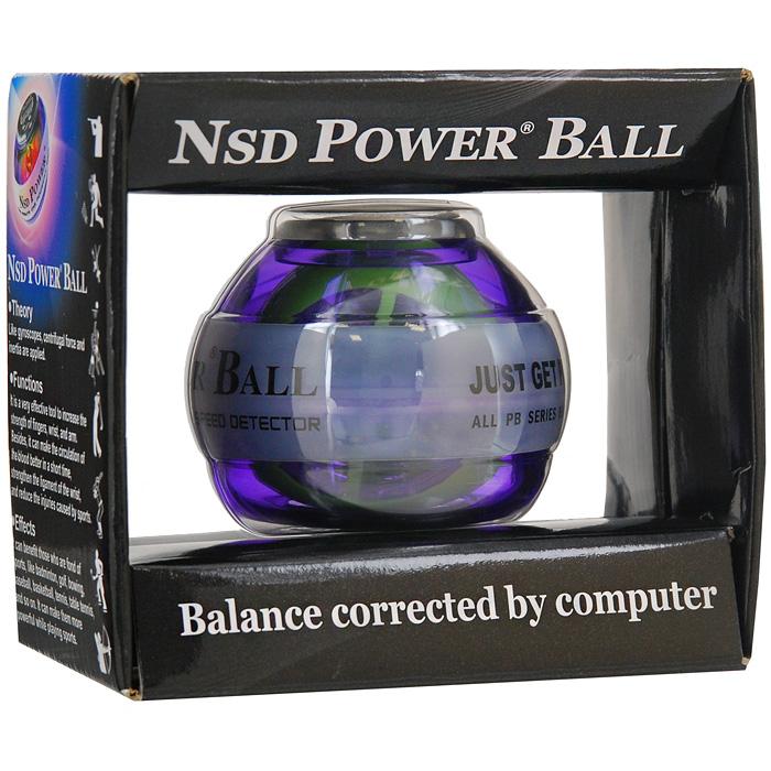"""Кистевой тренажер """"Powerball Multi Light"""" со счетчиком ( Тренажер Powerball 250 HZ Multi Light pro )"""