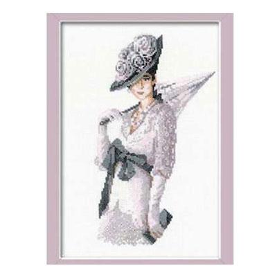"""Набор для вышивания крестом """"Мисс Элегантность"""", 21 х 30 см ( 1082 )"""