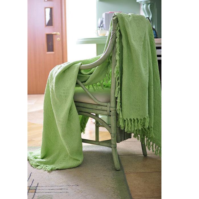 """Покрывало """"Зеленый чай. Kyoto"""", 200 х 240 см, цвет: зеленый"""