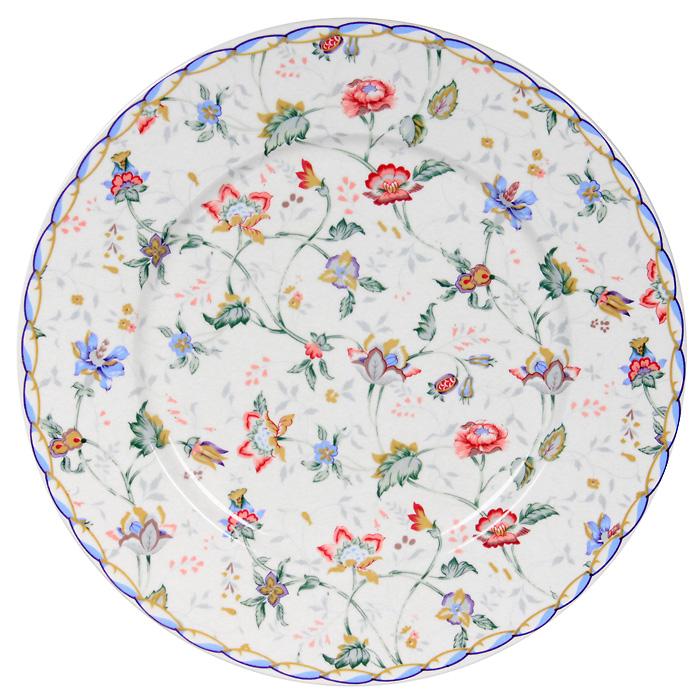 """Тарелка керамическая """"Букингем"""", диаметр 23 см ( IM35031-A218AL )"""