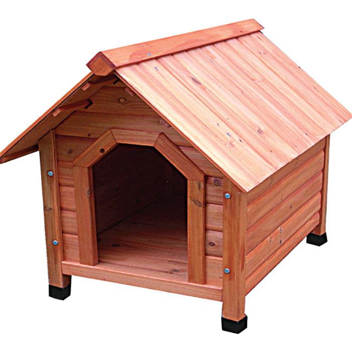 "Деревянная будка для собак ""Triol"", 82 см х 100 см х 90 см"