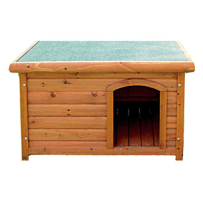 "Деревянная будка для собак ""Triol"", 77 см х 103,7 см х 66 см"