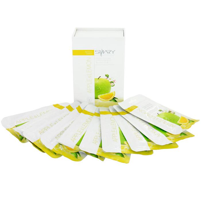 Набор масок плацентарных Shary для лица с экстрактами яблока и лимона, 10 шт