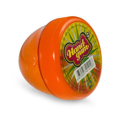"""Жвачка для рук """"ТМ HandGum"""", цвет: оранжевый, с запахом апельсина, 70 г"""